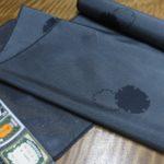 200亀甲絣の塩沢紬