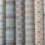 櫛押し絣が魅力的な秦荘紬