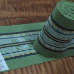 首里織のミンサー半巾帯