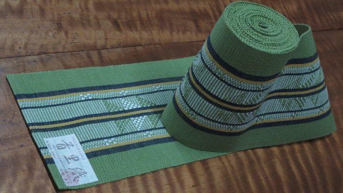 首里織の半巾帯