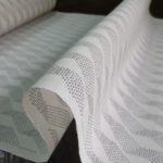 駒撚糸を使う涼やかな夏大島
