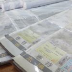 白泥で染める特許製法の大島紬