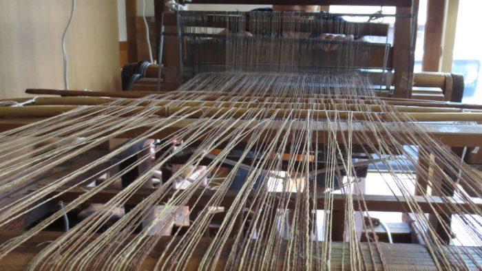 シナ布を織る