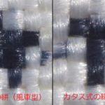 大島紬の組織 ~一元式とカタス式~