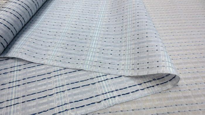 下井紬の帯