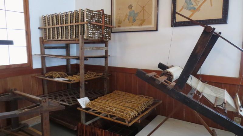 様々な染織道具