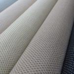 駒撚り糸で織り上げられる夏塩沢