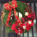 北山杉のクリスマスリース