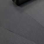 下井紬の綾織無地着尺