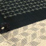 上品に仕上げられた越後上布の帯