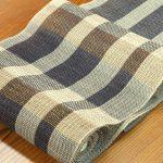 素材感あふれる からみ織