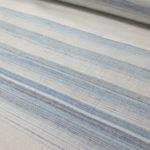 糸の芯まで染めるトップ染 霞模様の紬