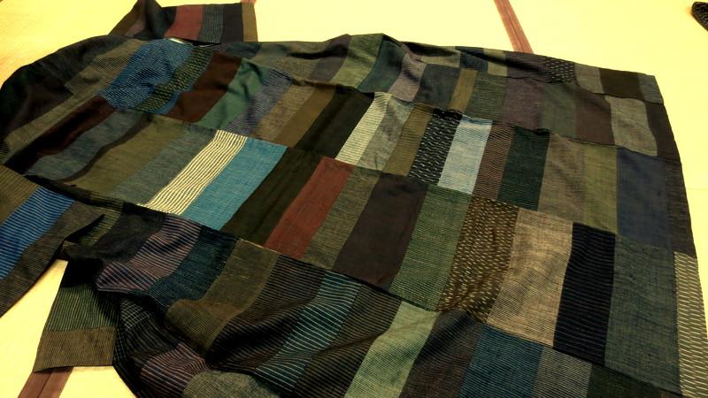 寄せ布で作った着物