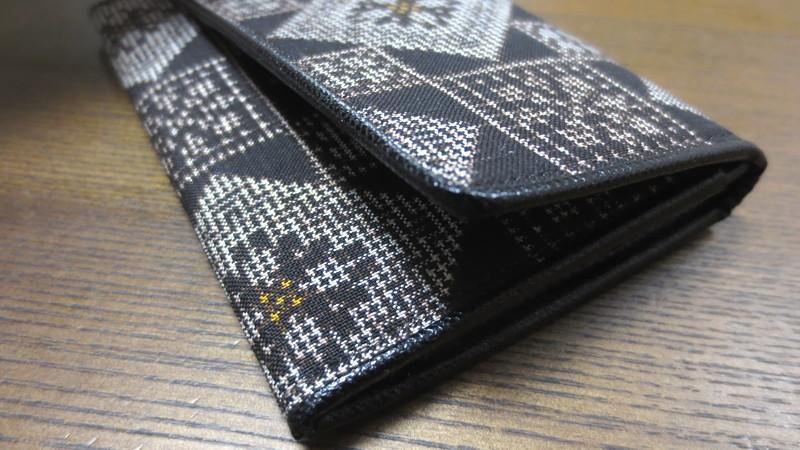大島紬の名刺ケース