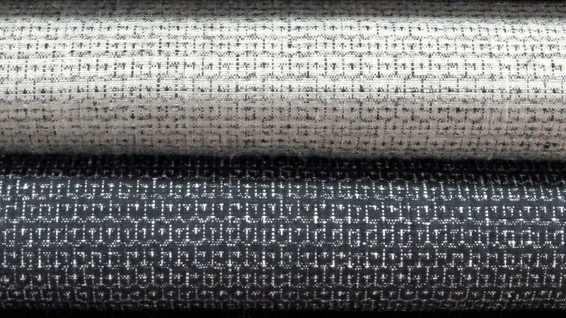 2種類の100亀甲結城紬