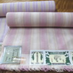 軽やかな結城紬の織帯