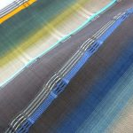 浮き織の美 吉野間道の帯
