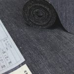 杢糸使いの塩沢紬