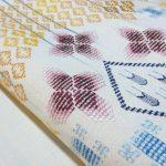 作り手の個性が輝く読谷山花織の帯