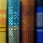 彩り豊かなグーシハナウィの角帯