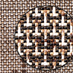 織物の組織を拡大(Zoom)する 〜大島紬編〜 高解像度画像ダウンロード用