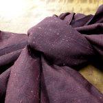 石摺り紬の兵児帯