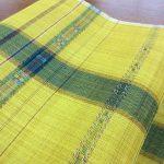 彩が冴える煮綛芭蕉布