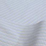 木綿のような風合いの絹紡糸の織物